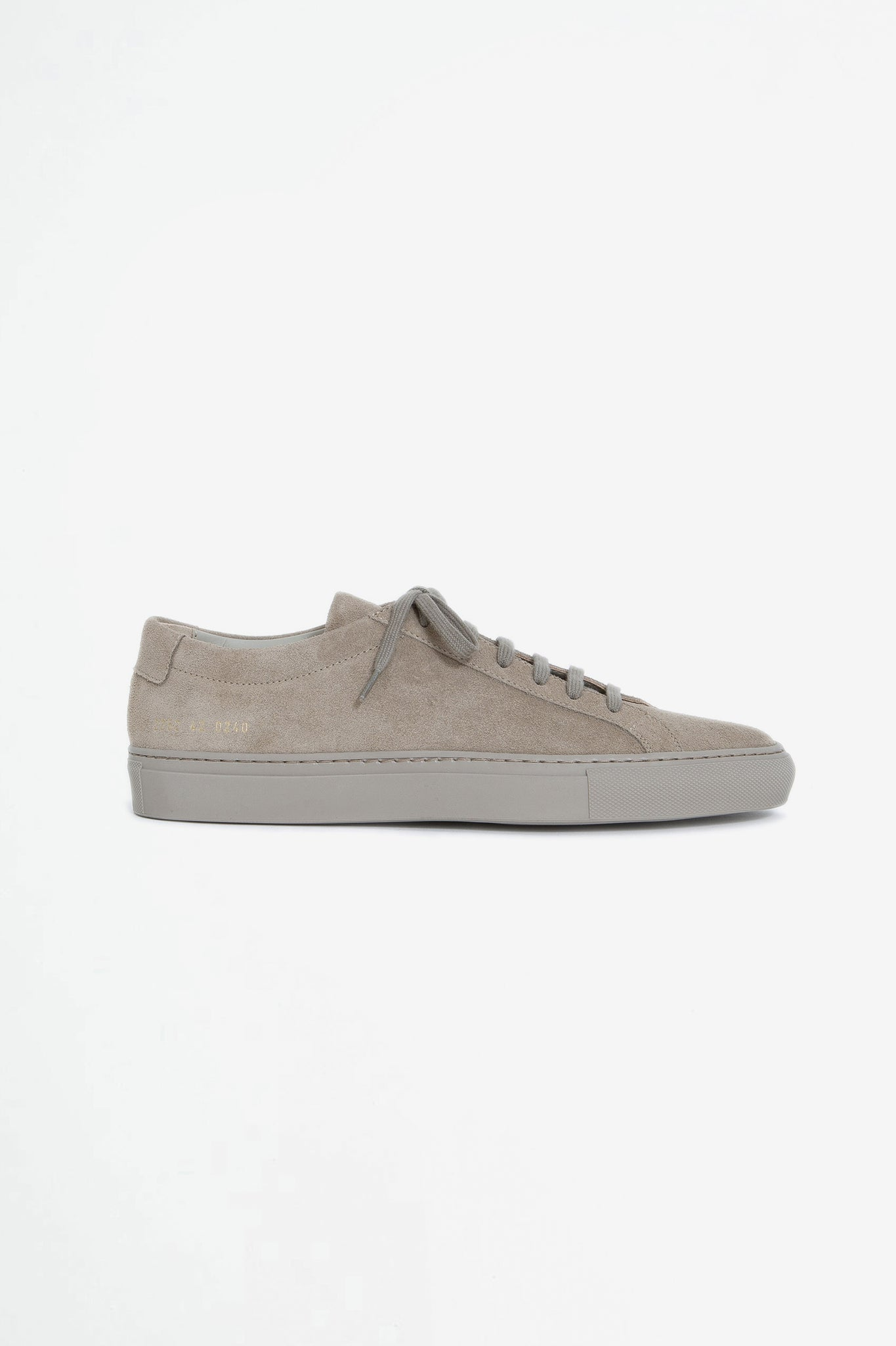 Original Achilles low suede taupe