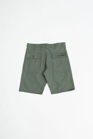 Fatigue short olive sateen