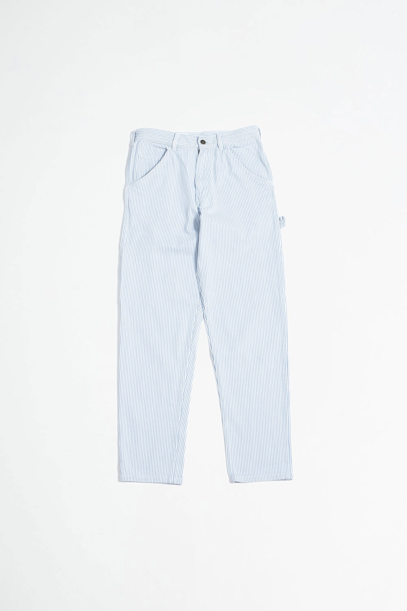 80s Painter Pant bleached hickory stripe