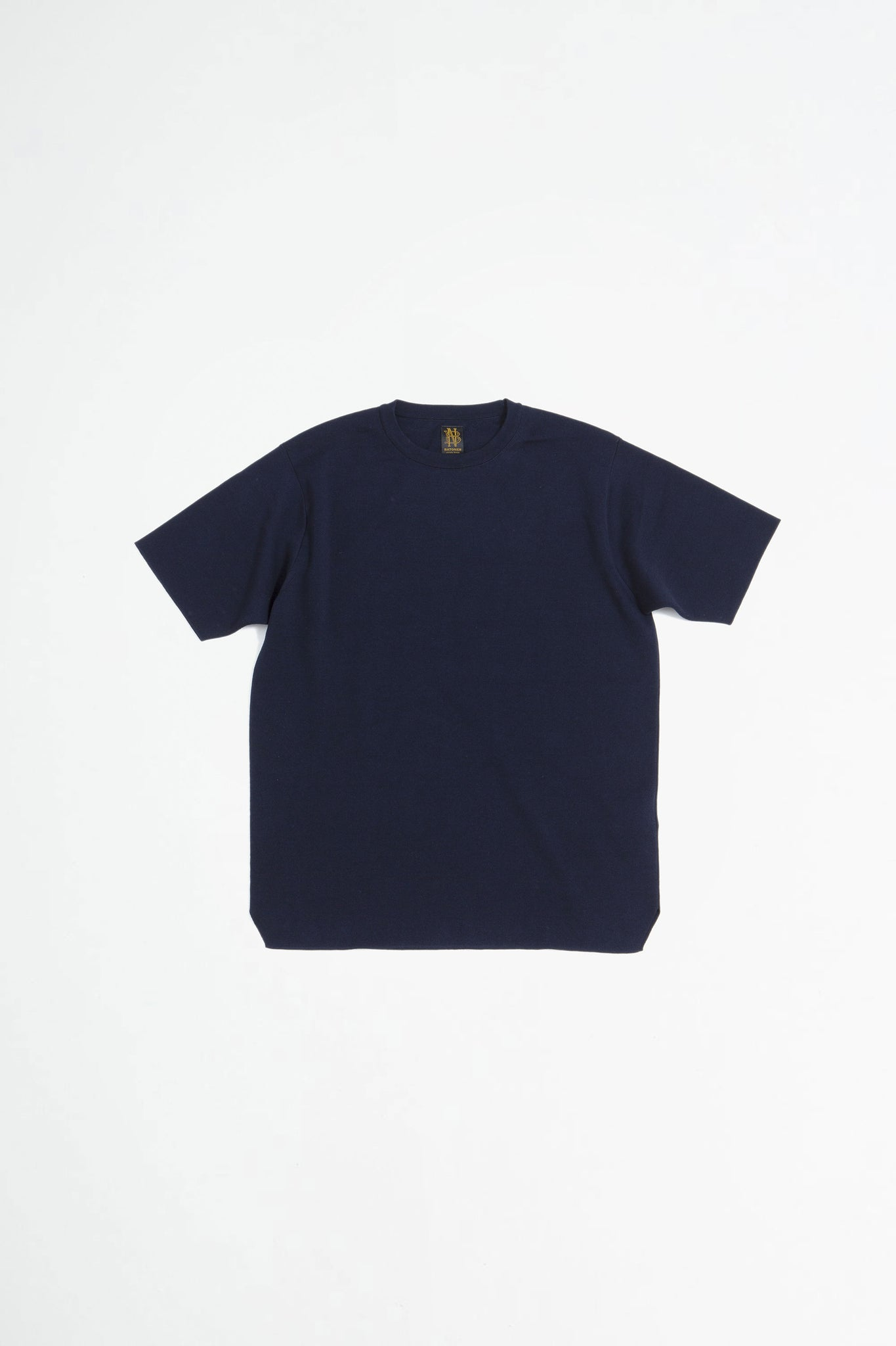 Smooth t-shirt navy