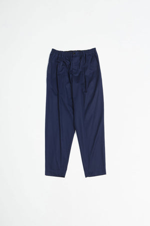 Elastic waist trousers navy