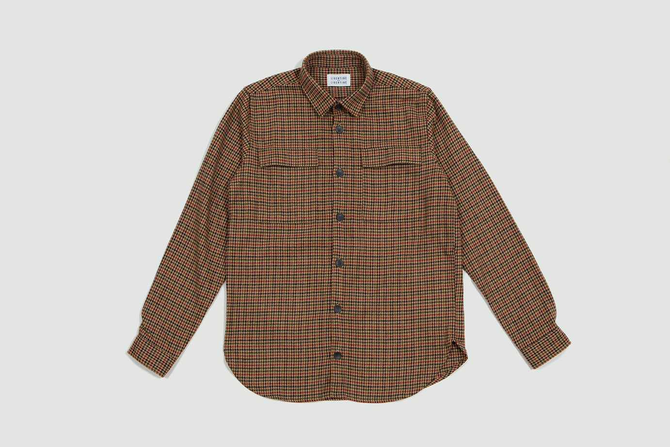 Libertine Libertine. Nation shirt red/navy/green
