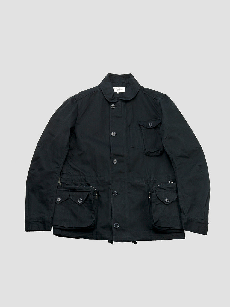Beaton jacket in black by You Must Create