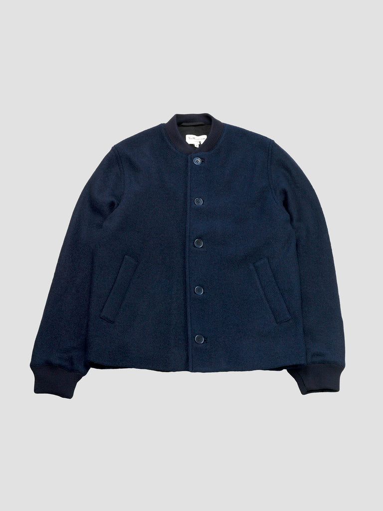 Turf jacket in navy by You Must Create made in Europe