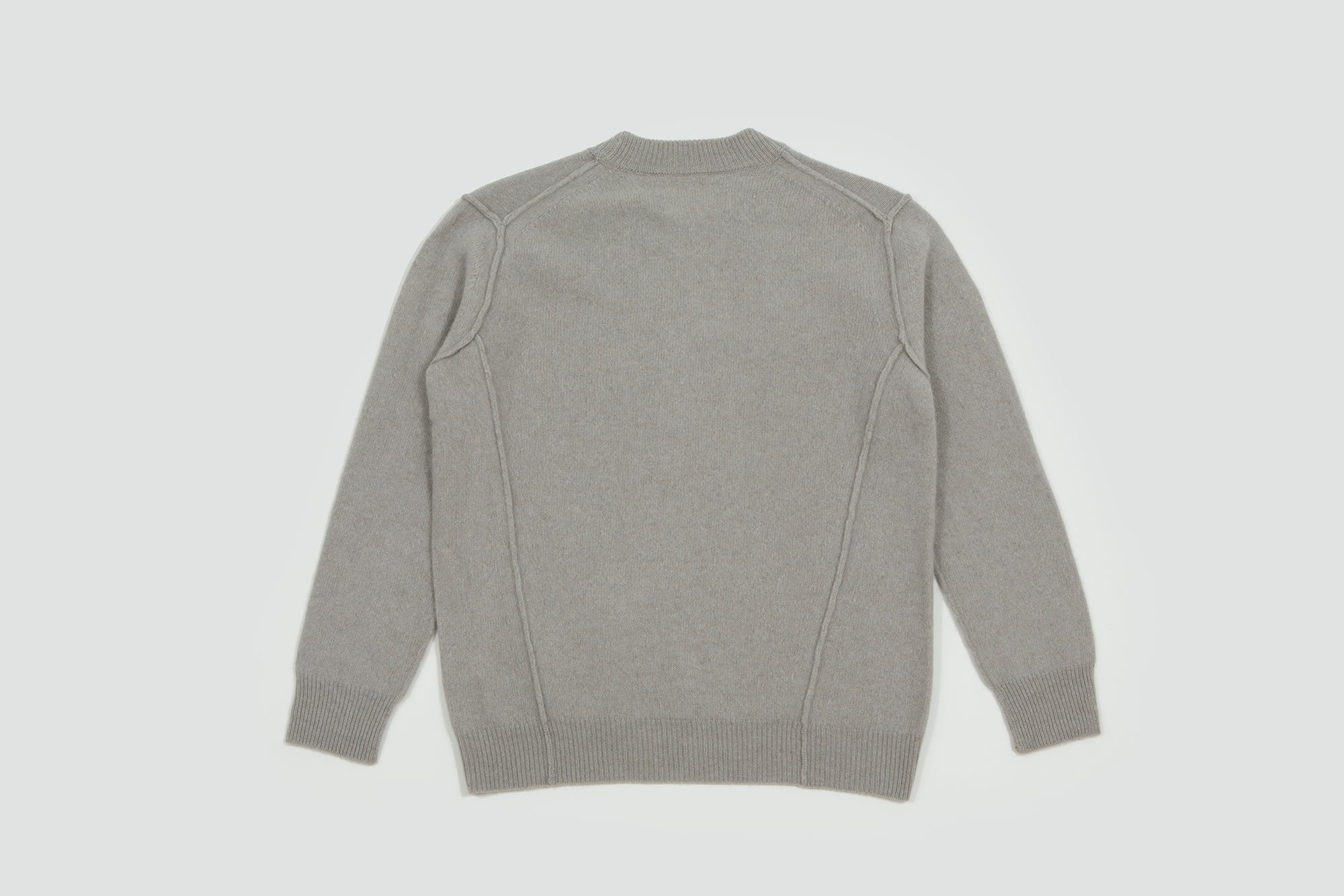 Still by Hand. Shaggy knit grey