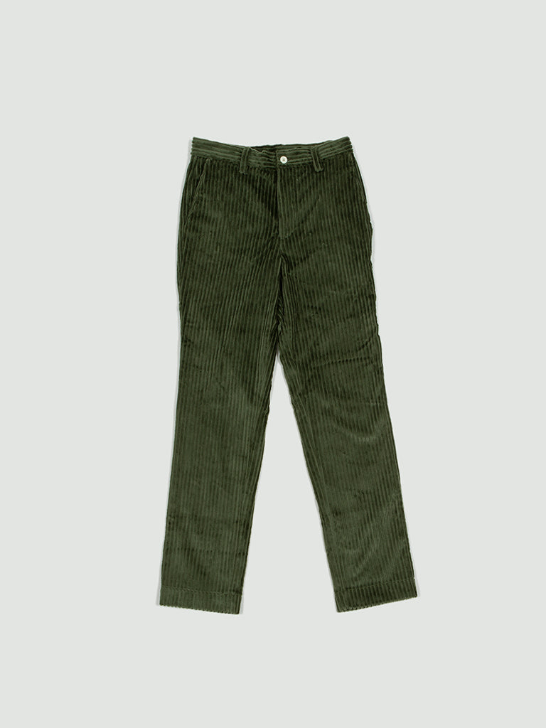 Sunnei. Straight pants green