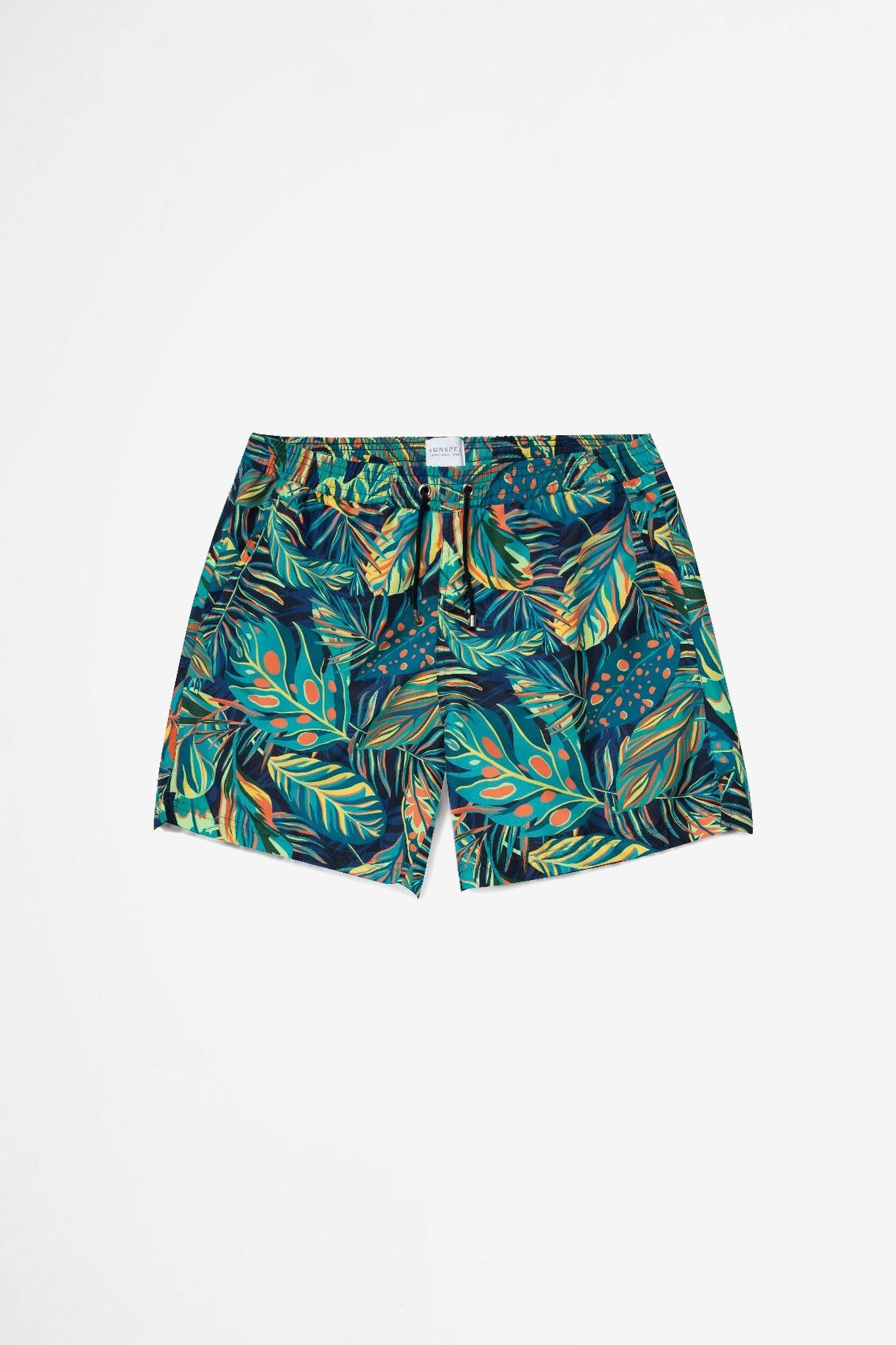 Swim short Liberty rainforest print navy