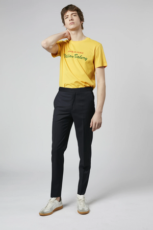 T-shirt Monica&Luigi yellow