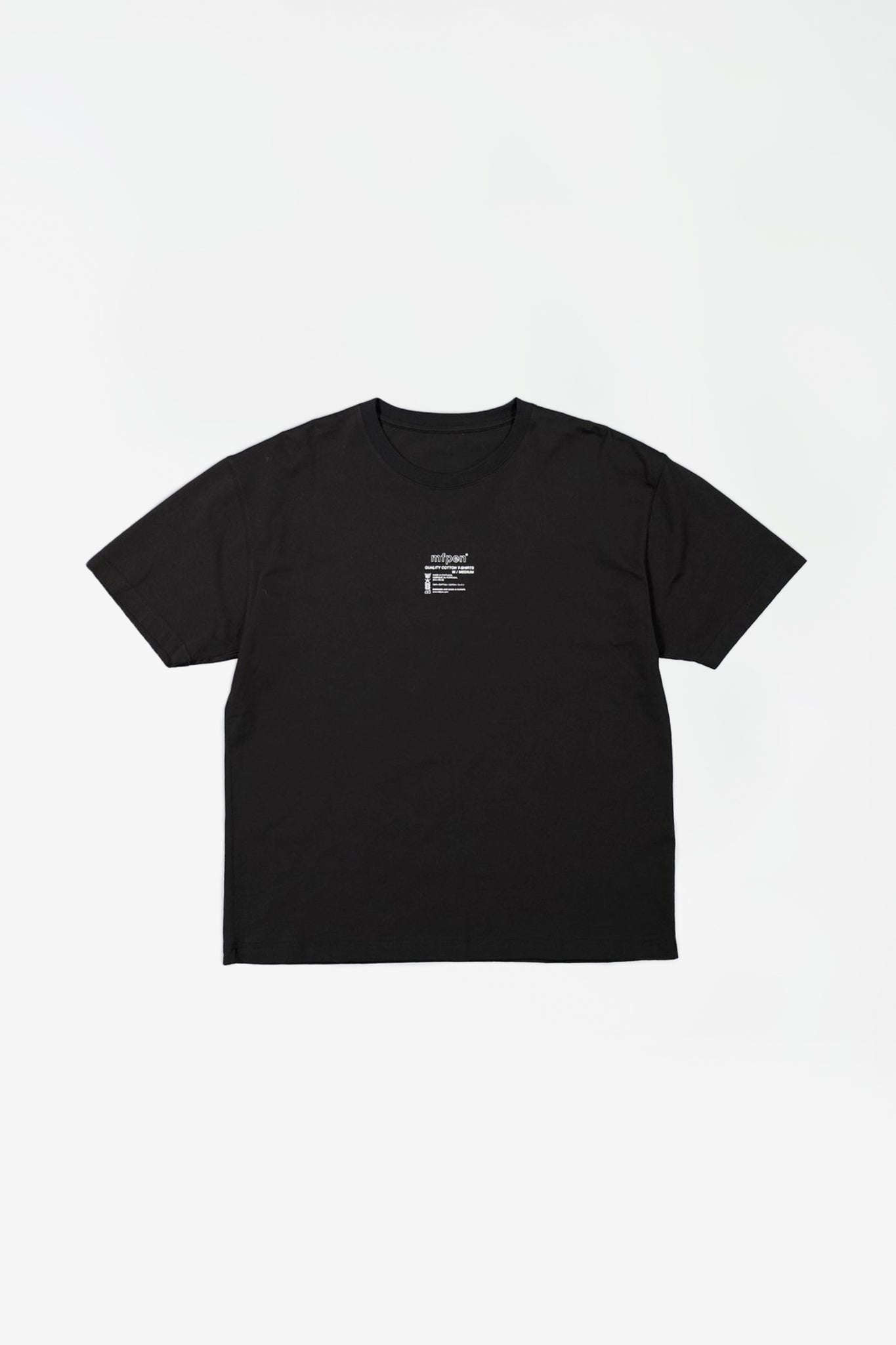 Tagless t-shirt black