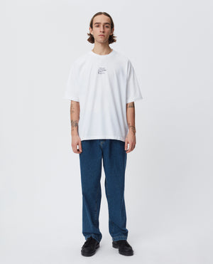 Tagless t-shirt white