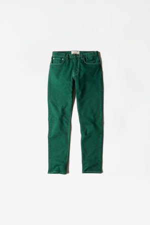 Tapered 5-pocket jeans ivy league green