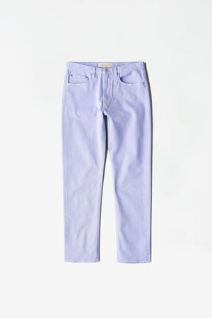 Tapered 5-pocket lilac