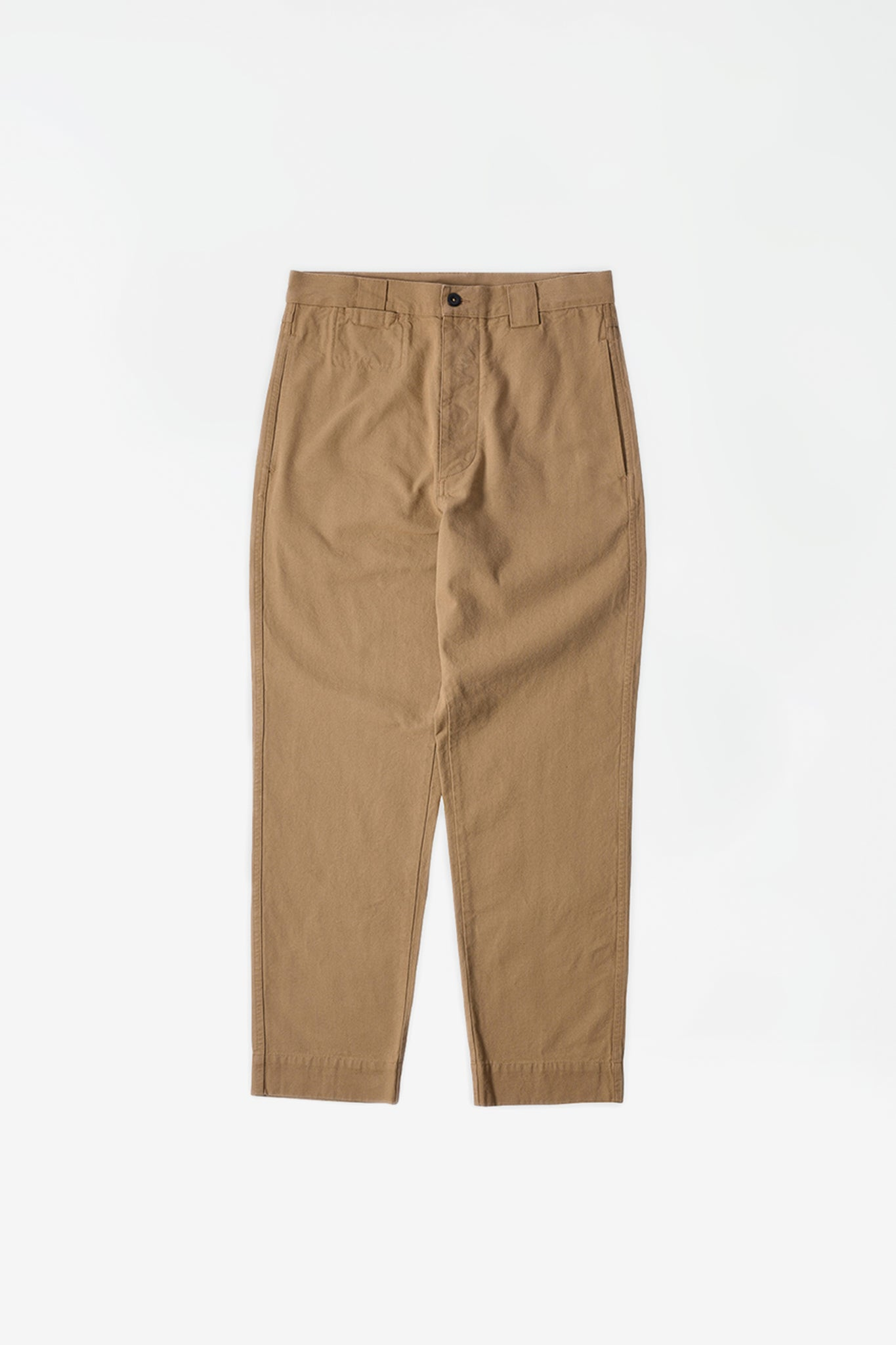 Tapered trouser japanese canvas stone