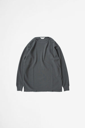 Thermal long sleeve charcoal
