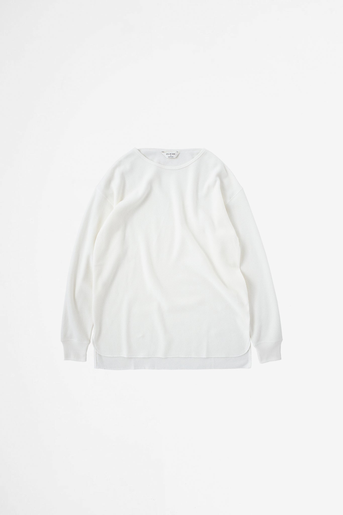 Thermal long sleeve white