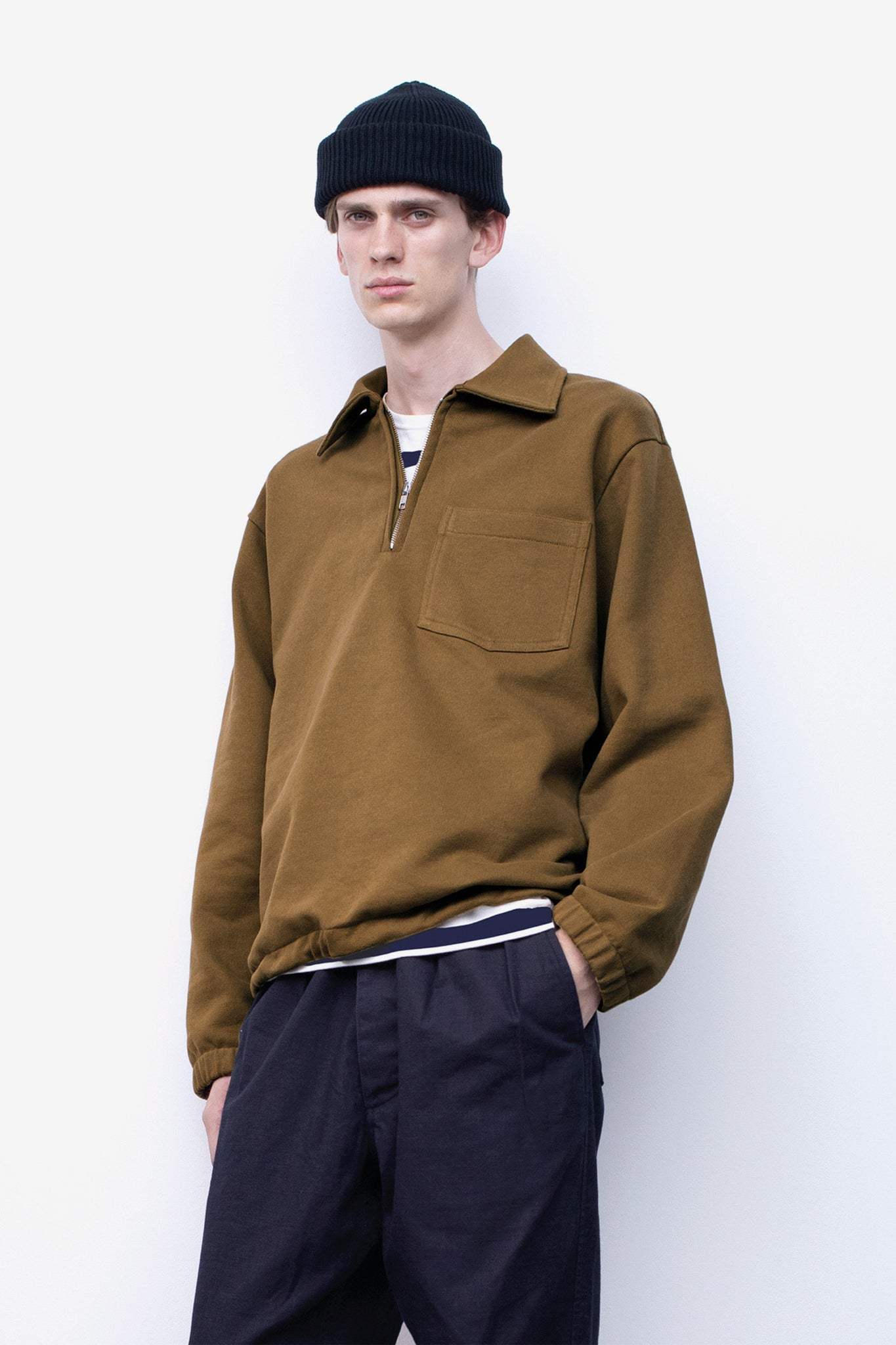Track top dry loopback ochre