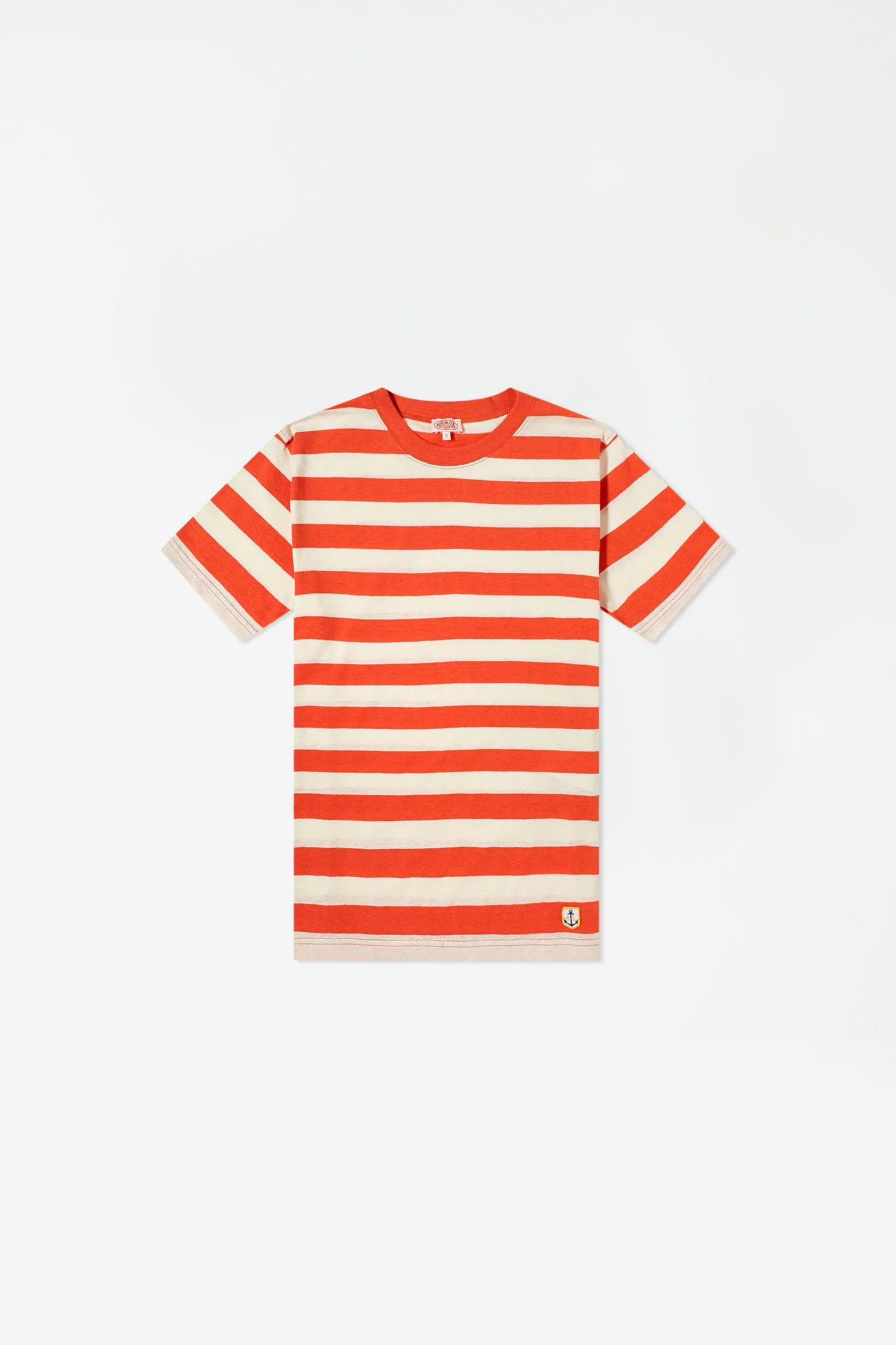 Tshirt MC raye heritage orange/nature