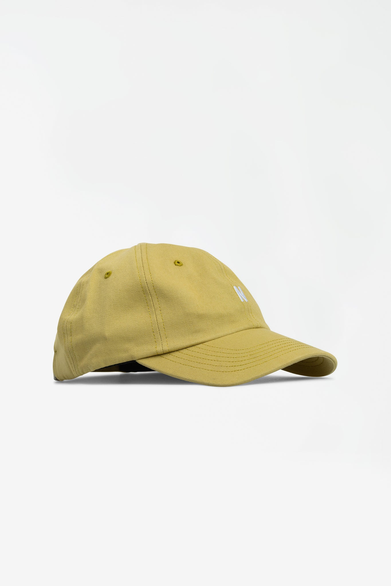 Twill sports cap chartreus green