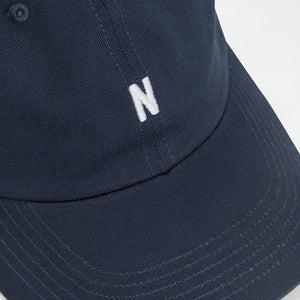 Twill sports cap dark navy