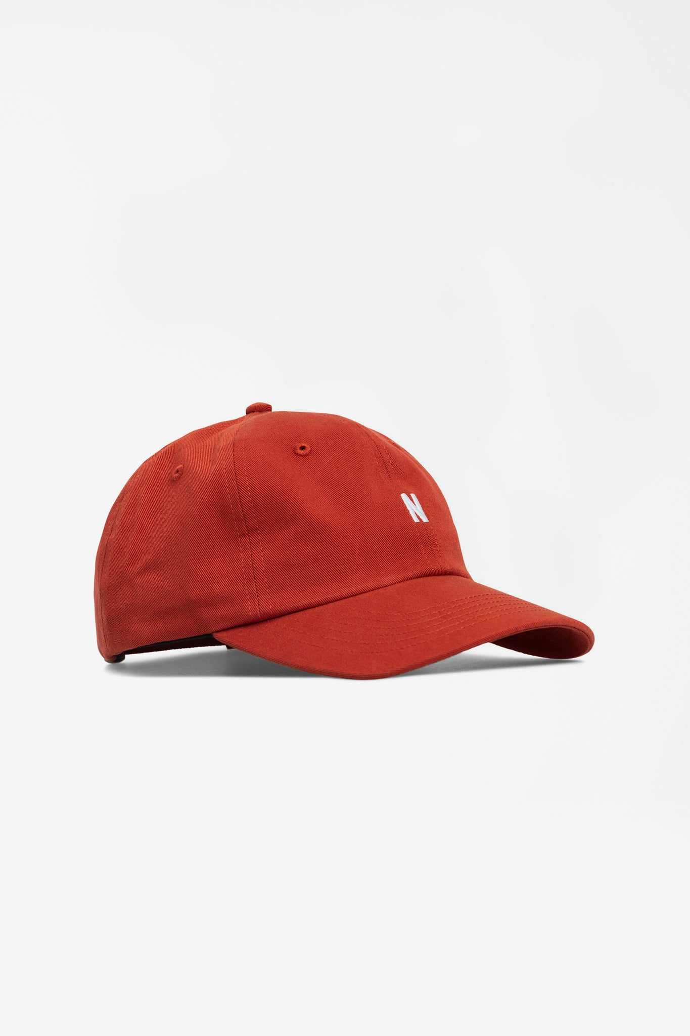 Twill sports cap industrial orange