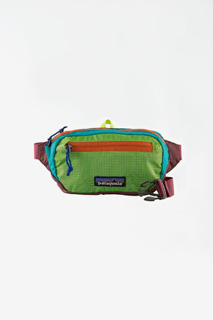 Ultralight blackhole mini hip patchwork green