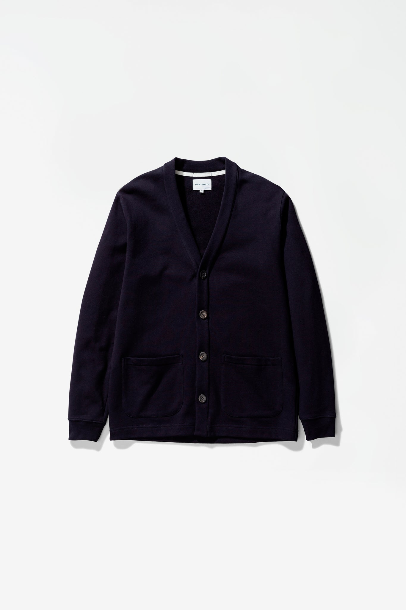Vidar sweat cardigan dark navy