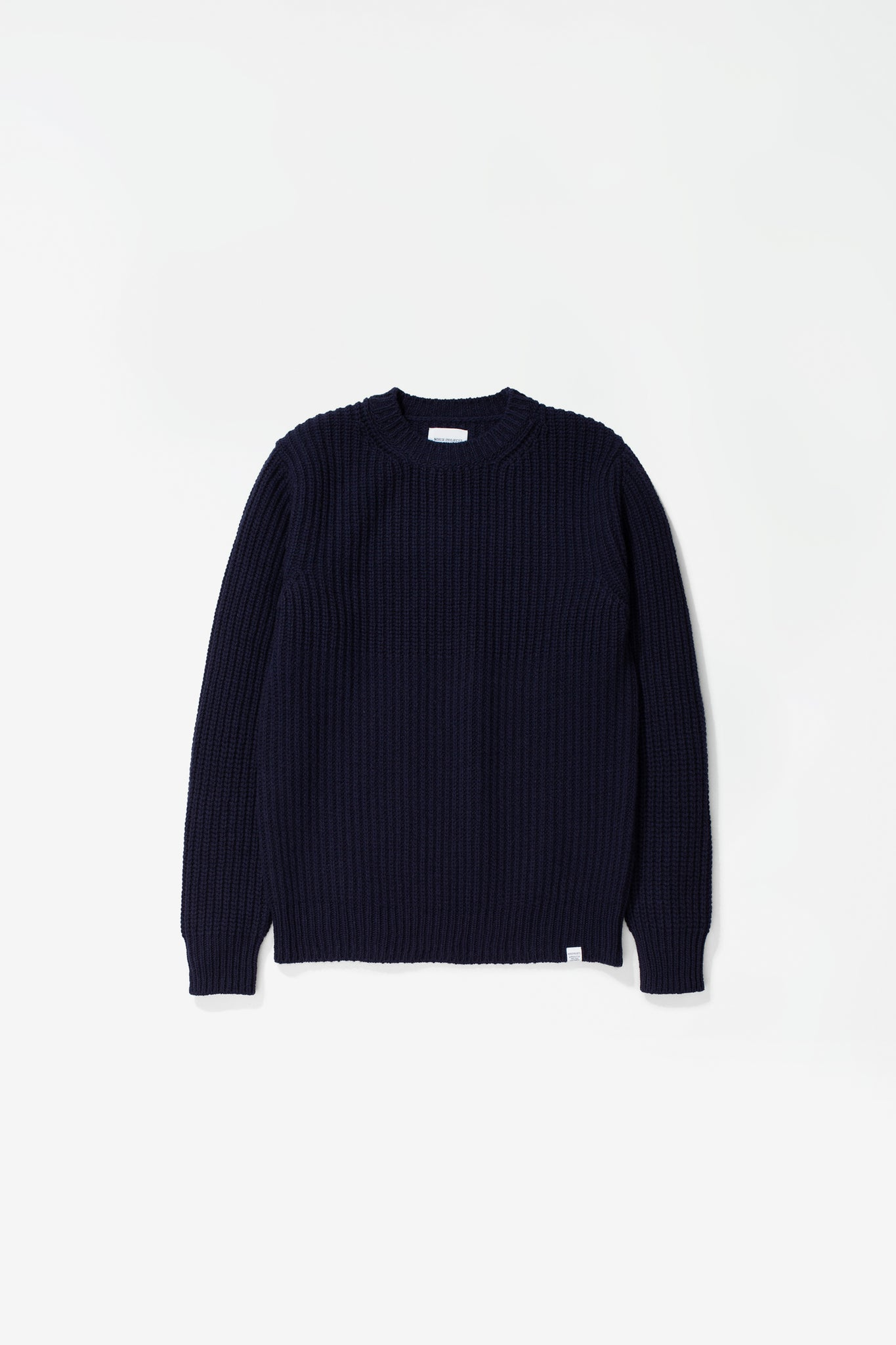 Viggo military stitch crewneck dark navy