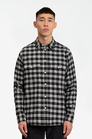 Villads brushed flannel check