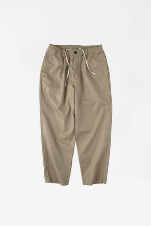 Welt side pocket pants beige