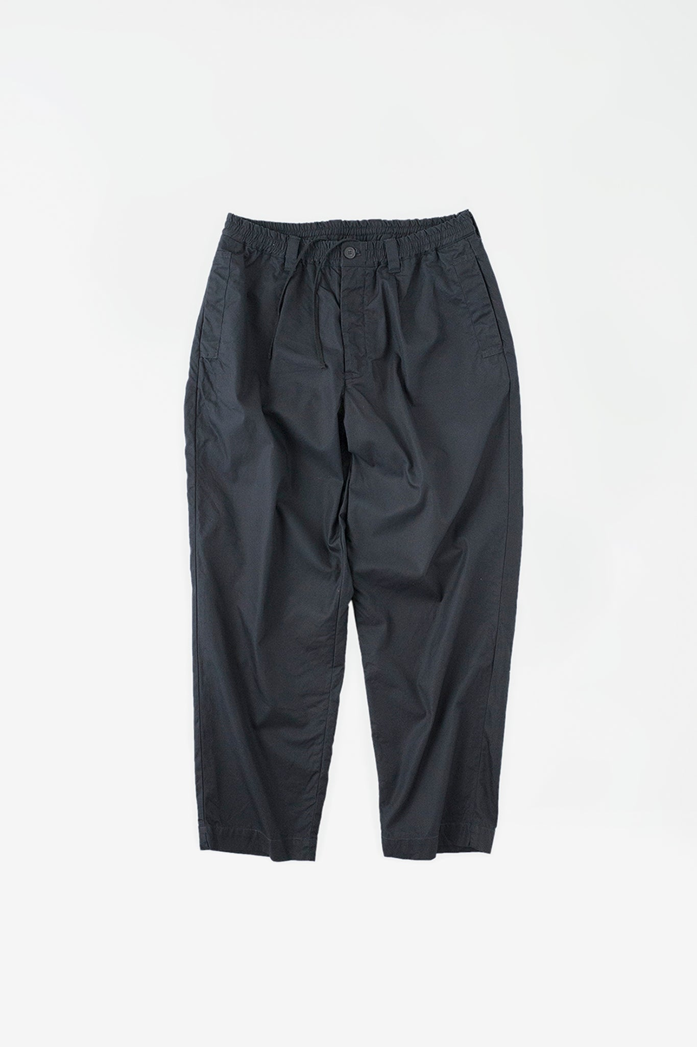 Welt side pocket pants navy