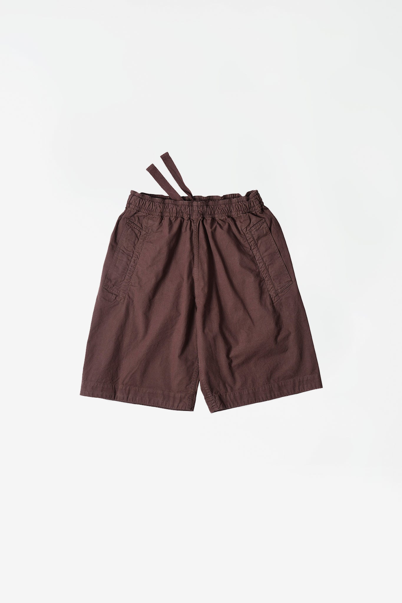 Wide leg jogger short bark