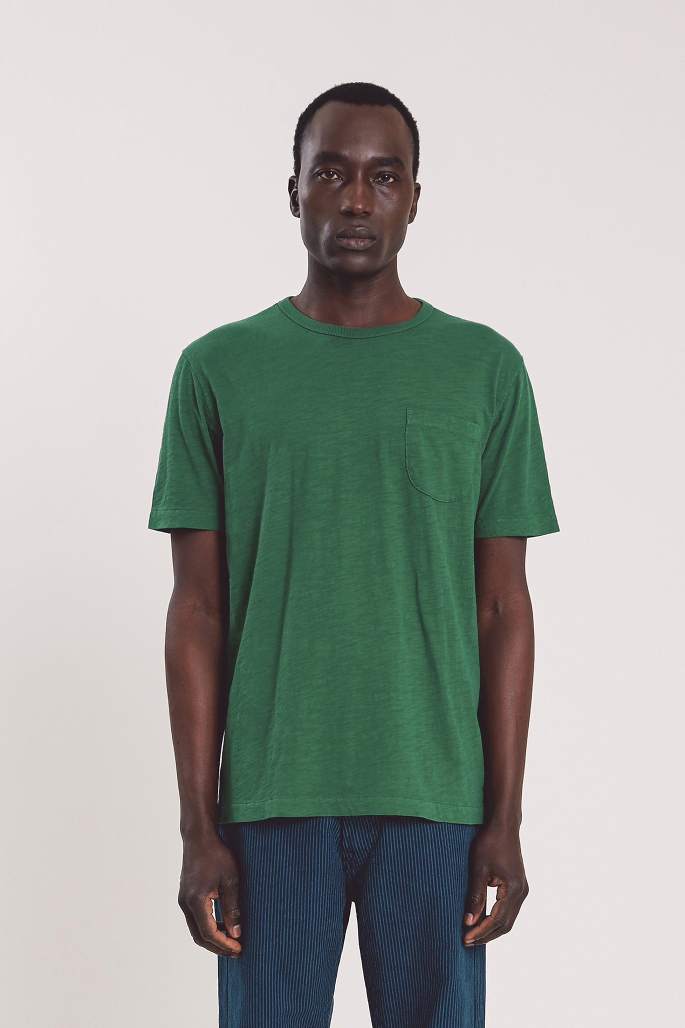 Wild ones pocket tee green