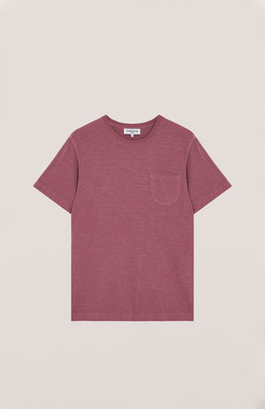 Wild ones pocket tee pink