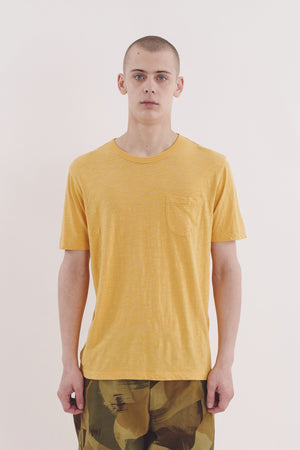Wild ones pocket tee yellow