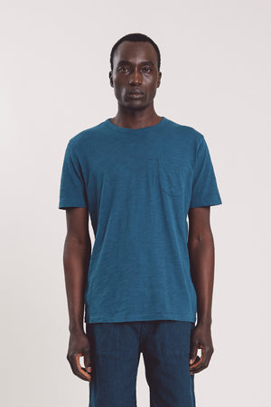 Wild ones pocket tee blue