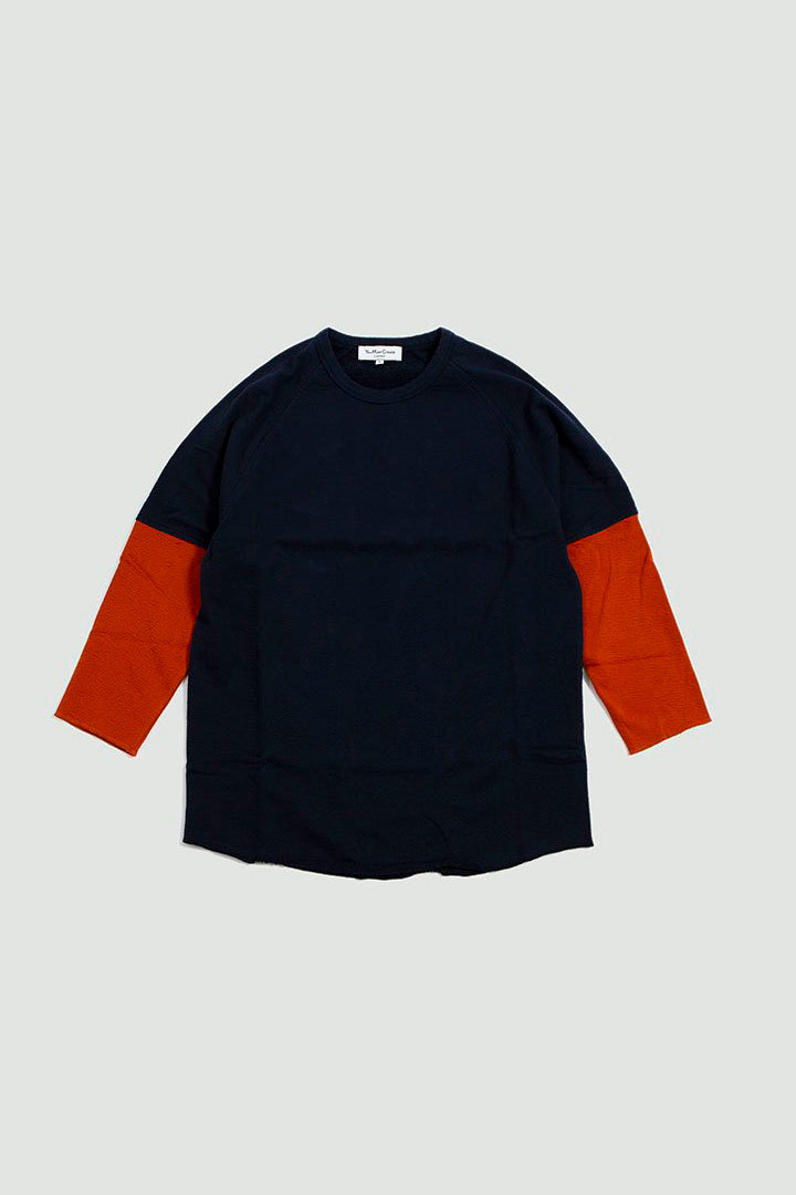 Szabo Sleeve Top navy/rust