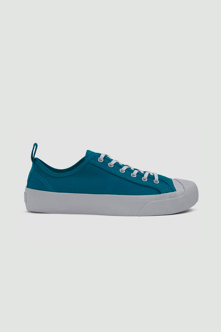 Wing Tip trainers teal