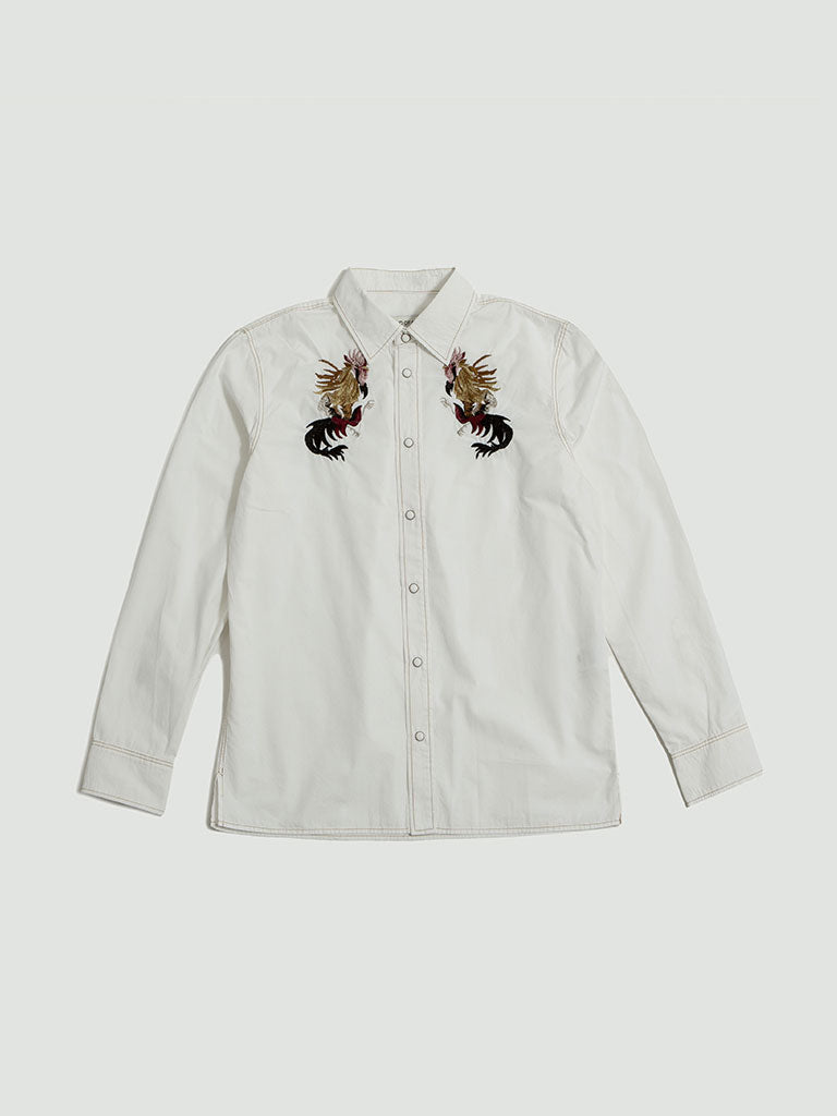 A Kind of Guise. Kikeriki shirt white