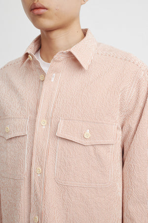 Chambers shirt red stripe