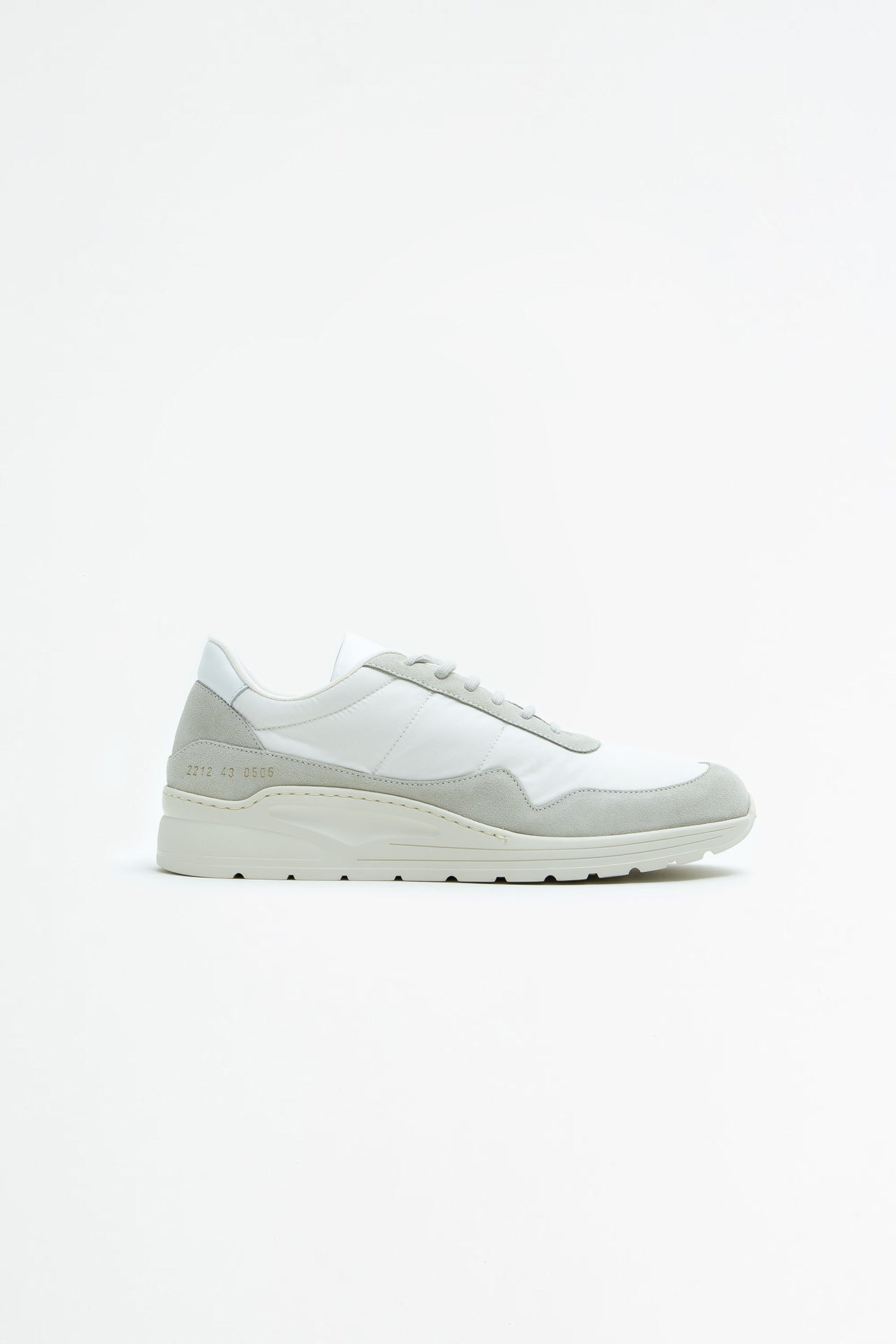 Cross Trainer in Suede White