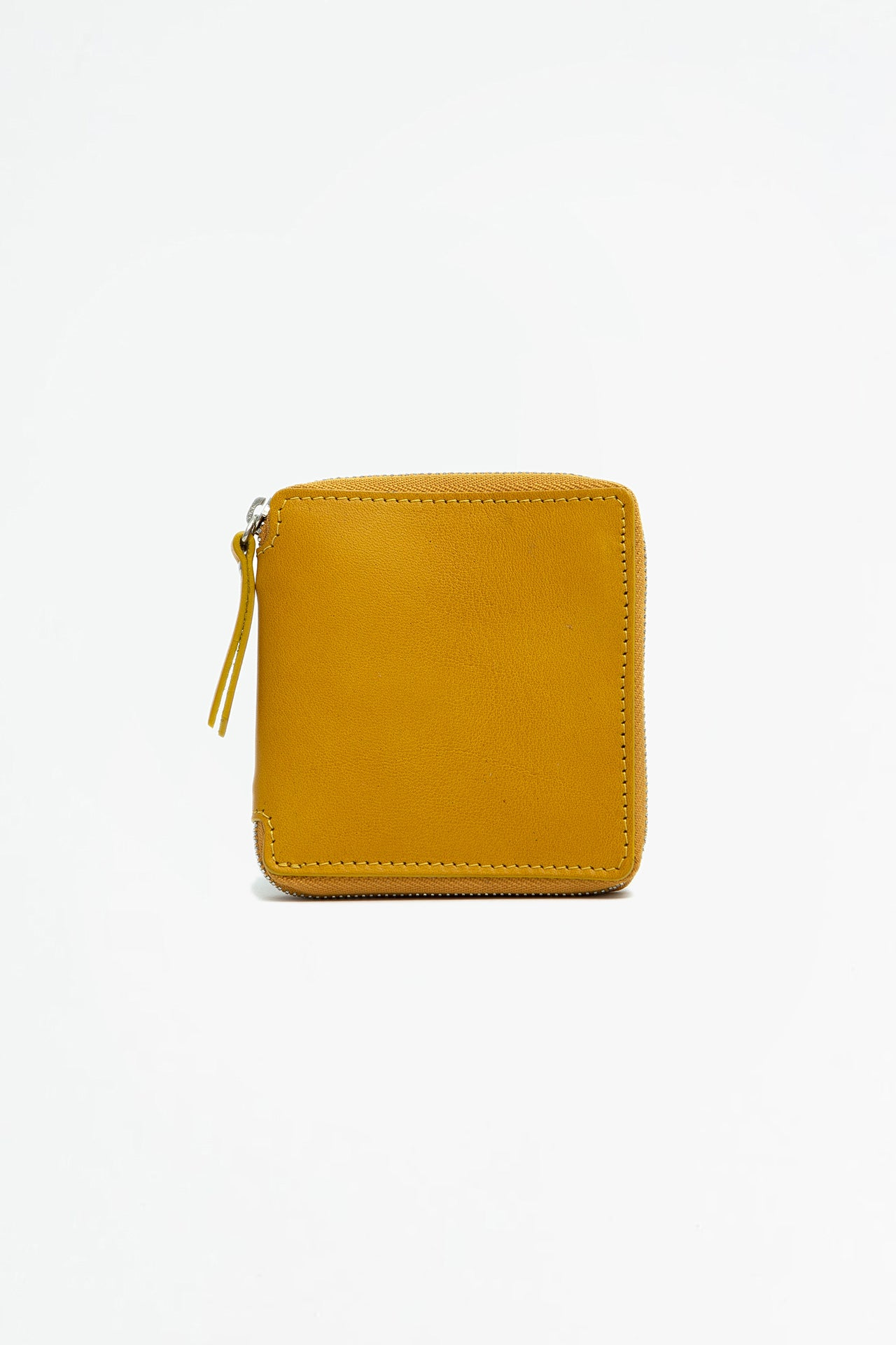 Big zipped wallet mustard