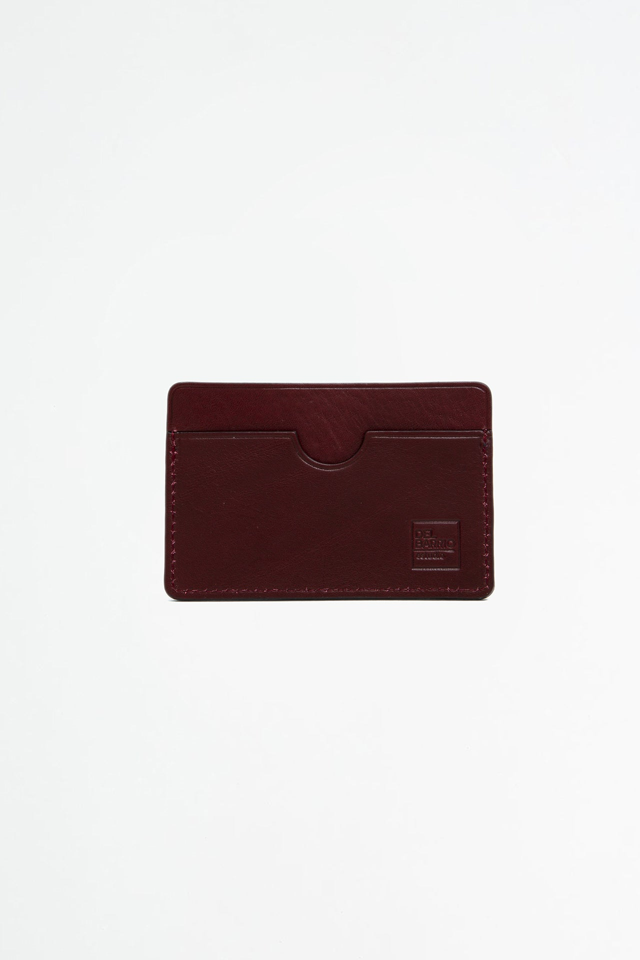 Simple cardholder burgundy