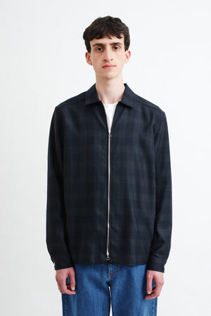 Delon Shirt dark check