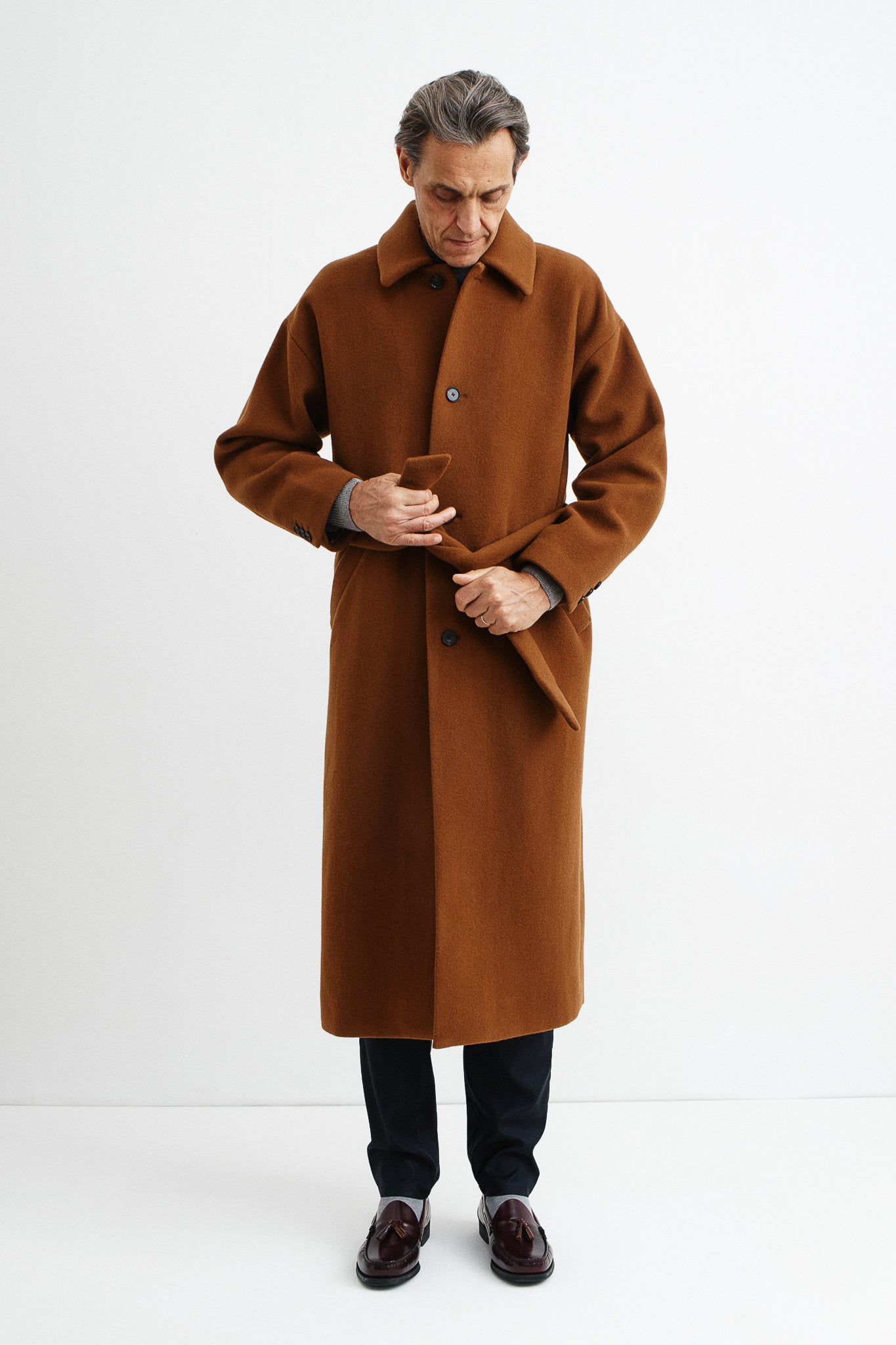 De Niro Coat copper