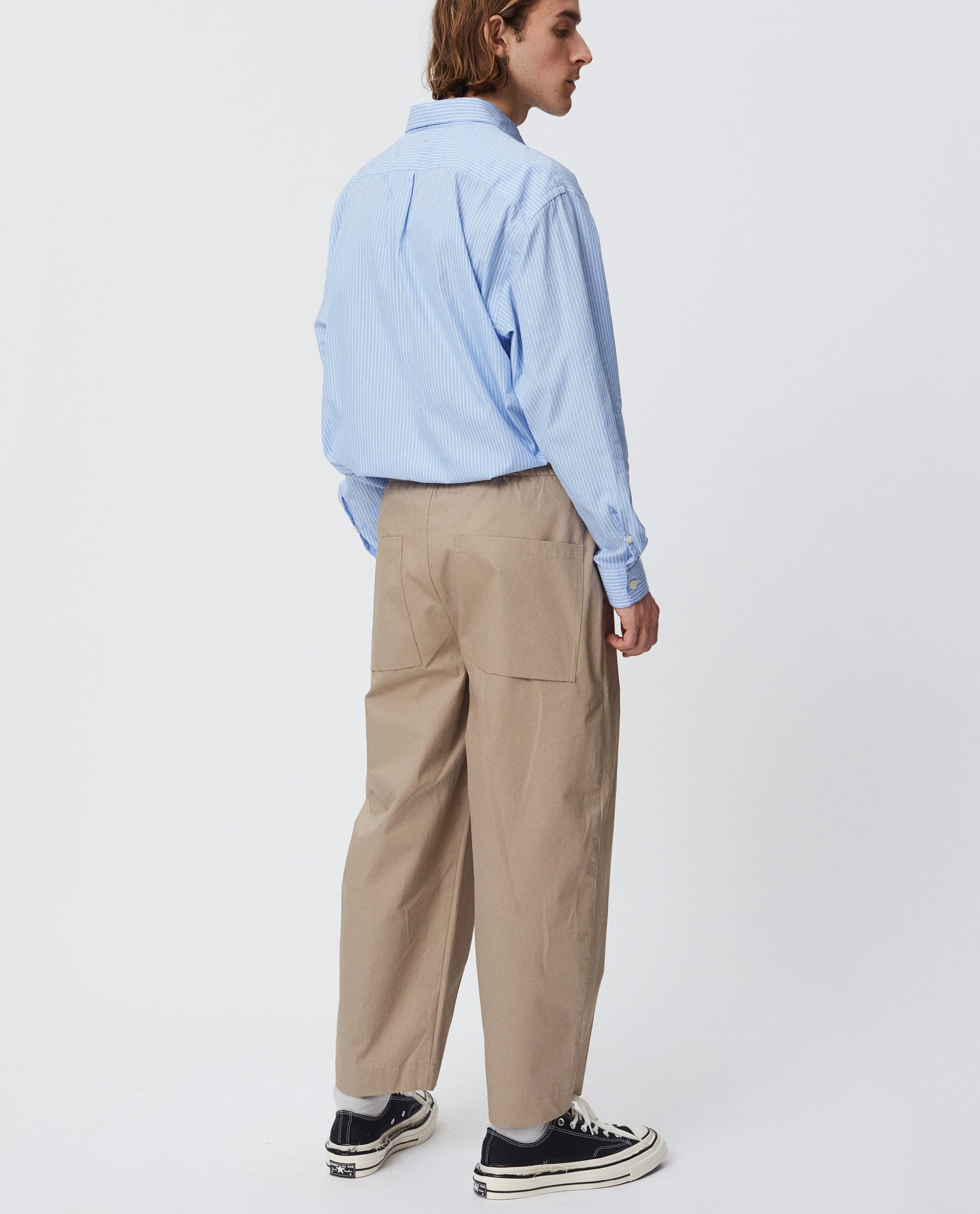 Case trousers beige