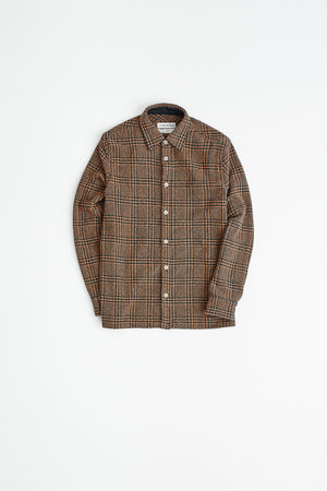 Dullu Overshirt brown check