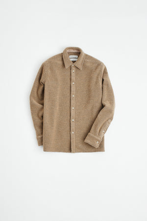 Dullu Overshirt brown sugar