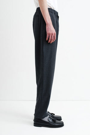 Elasticated Wide trousers anthracite