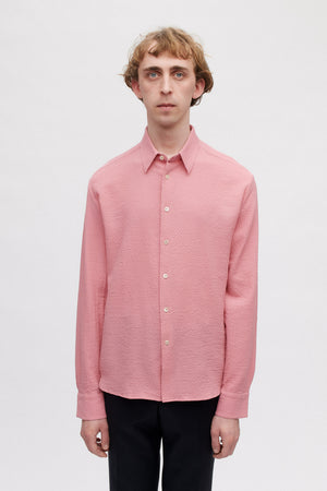 Flores shirt berry sorbet