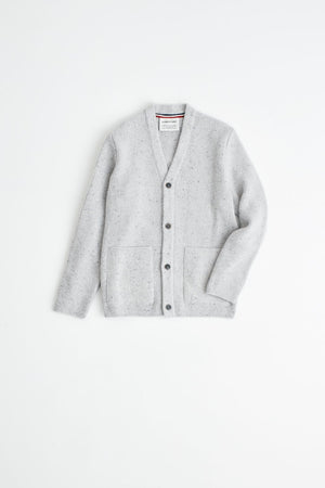 Gambino Knit Jacket snow melange